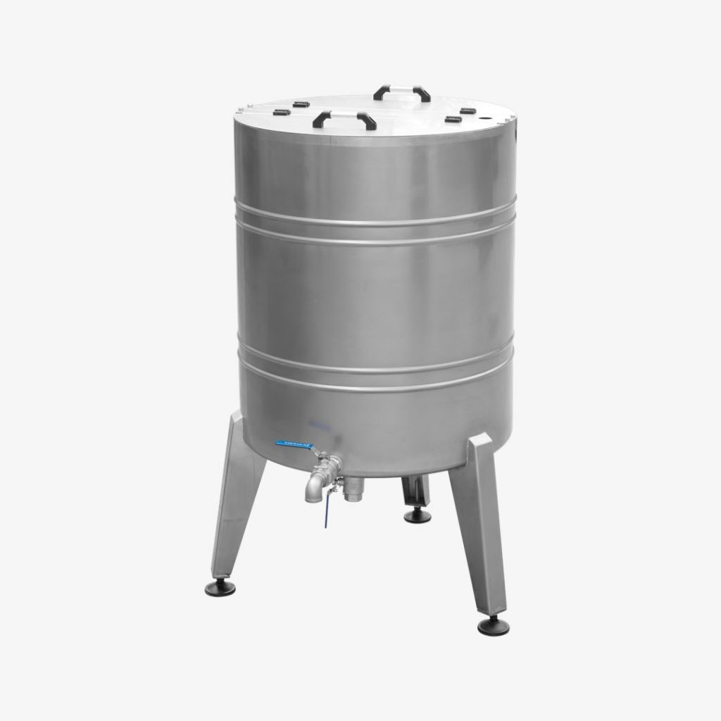 Invert Syrup Boiling Tank & Stock Tank